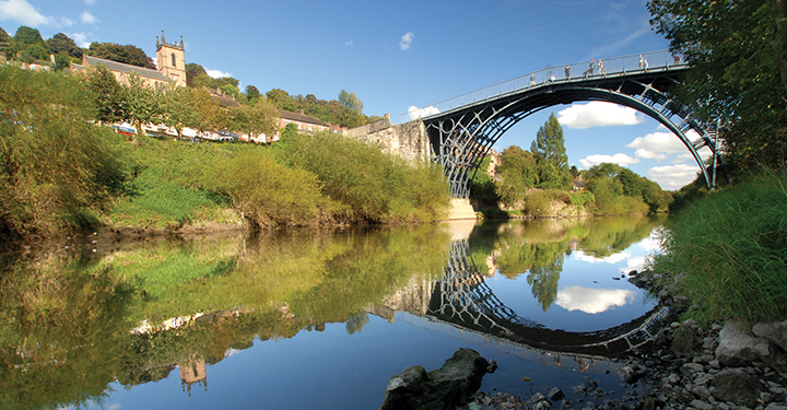 Photo of the Ironbridge World Heritage Site