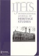 international journal of heritage studies cover