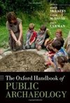 book cover for the oxford handbook of public archaeology