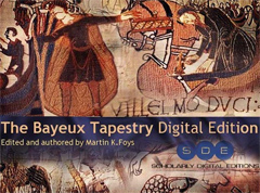 Screenshot of the digital edition of the Bayeux tapestry