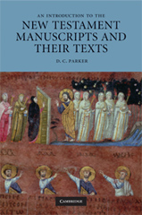 Book cover of David Parker's New Testament Manuscripts and their Texts
