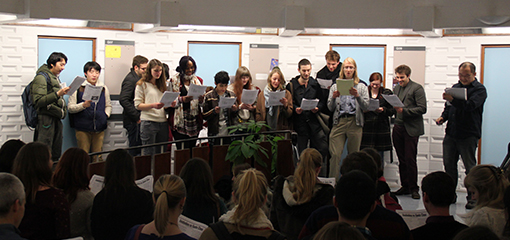 Modern Languages carols and popular songs evening