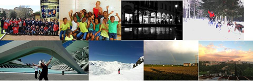 Merge of the shortlisted photos for the 2013 Year abroad photo competition