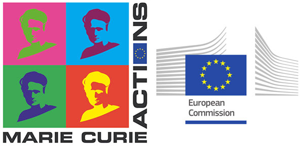 Marie Curie Actions and European Commission logos