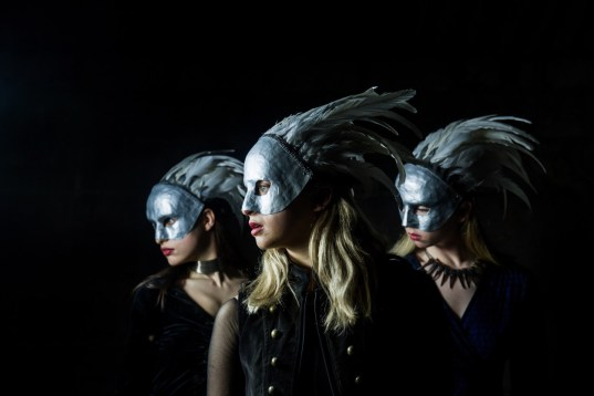The Witches in Mark Bruce's new Macbeth (Photo Nicole Guarino)