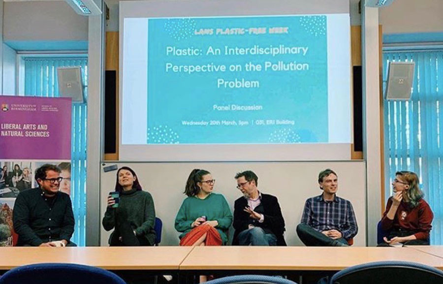 Panel discussion on plastic