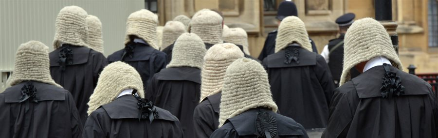 Photo of British judges