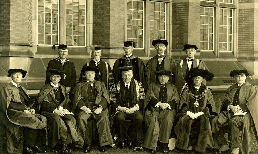 The Inauguration of the Faculty of Law, Degree Ceremony in June 1928