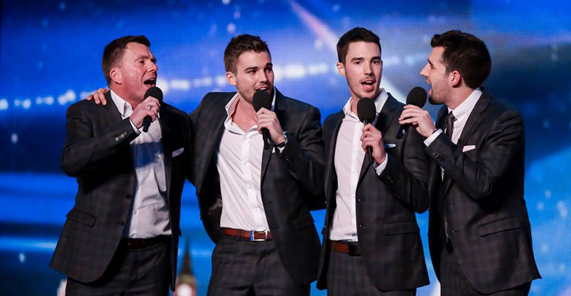 Photo of the Britain's Got Talent contestants The Neales