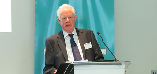 Photo of Lord Thomas, Lord Chief Justice, giving the keynote at the conference to mark the publication of The Poltics of Judicial Independence in the UK's Changing Constitution