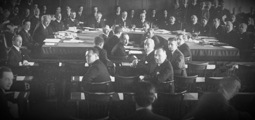 Photo of the League of Nations, 1931
