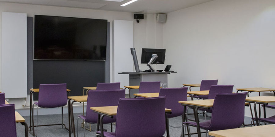 A teaching room in the Harding Space