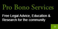 Pro Bono Services - Free Legal Advice, Education & Research for the community