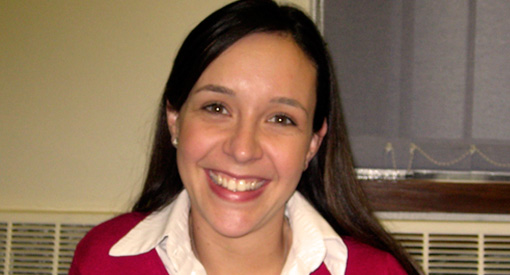 Photograph of Christina Santos, LLM graduate