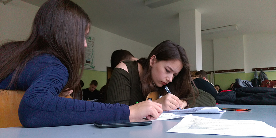 Working with young people in Bosnia-Herzegovina