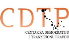 Logo of the Centre for Democracy and Transitional Justice (CDTP), Bosnia-Herzogovina