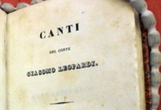 Leopardi in the Special Collections
