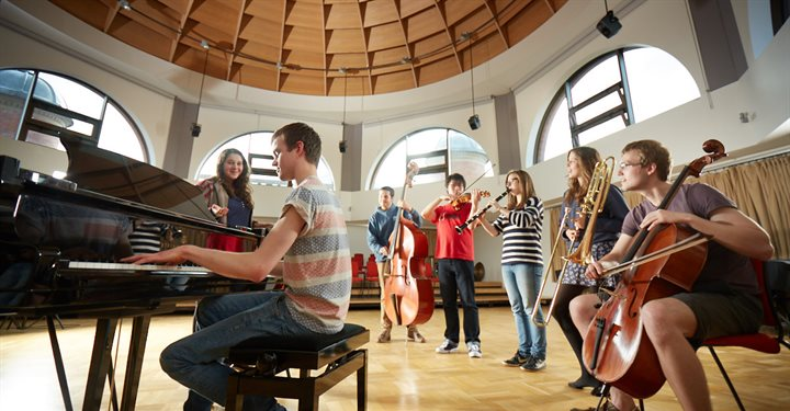 world class facilities for music students