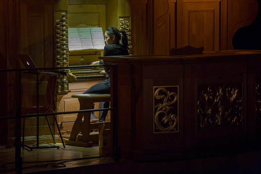 Organist in the Bramall Concert Hall