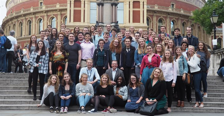 University of Birmingham Singers at BBC Proms with BBC Proms Youth Choir