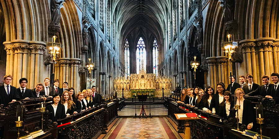 Birmingham University Liturgical Choir at Lichfield Cathedral