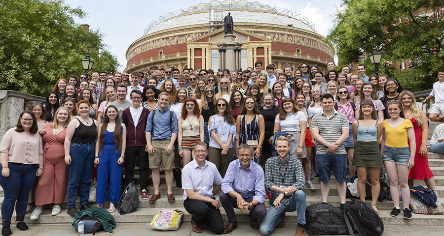 University of Birmingham Voices at the BBC Proms with BBC Proms Youth Choir