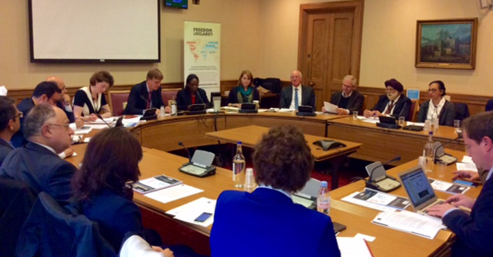 All Party Parliamentary Group for International Freedom of Religion or Belief roundtable event