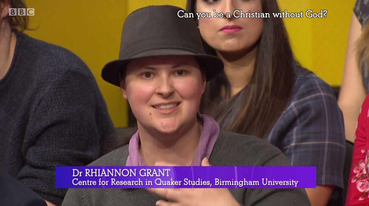 Rhiannon Grant - BBC The Big Questions