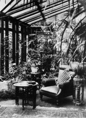 Photograph of a conservatory
