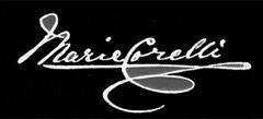 Signature of Marie Corelli