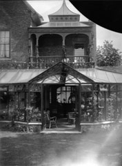 Photograph of a porch