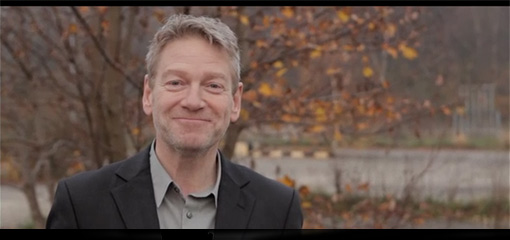 Video still of Kenneth Branagh