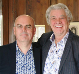Michael Dobson with Matthew Kelly