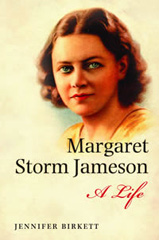 Book cover for Margaret Storm Jameson - A Life
