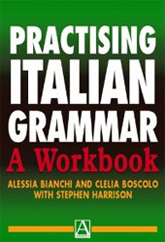 Book cover for Clelia Boscolo's 'Practising Italian Grammar'
