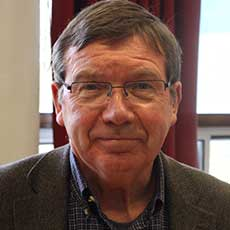 Photo of Professor John Baldwin