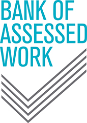 Bank of Assessed Work logo