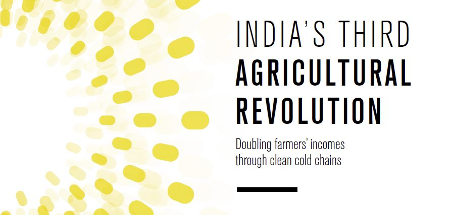 India's Third Agricultural Revolution report