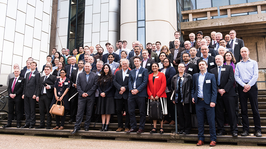 Group photograph of Birmingham Energy Institute's Clean Cold Congress 2018