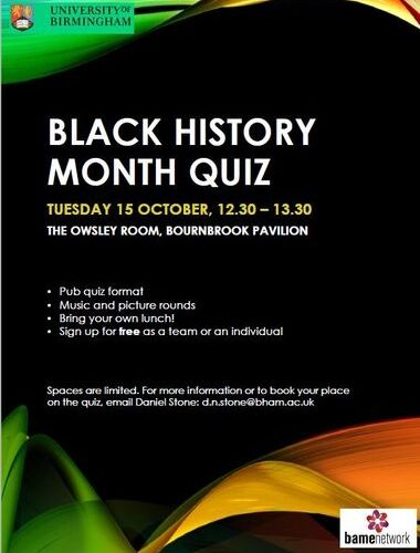 graphic about Black History Month Quiz Printable titled BHM2019 - Quiz