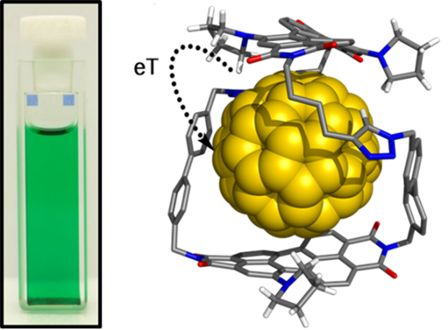 An Electronically Versatile Host for Fullerenes