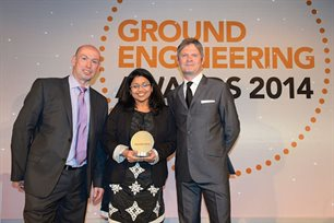 Janvi-Geotechnical-Engineering-Awards-presentation
