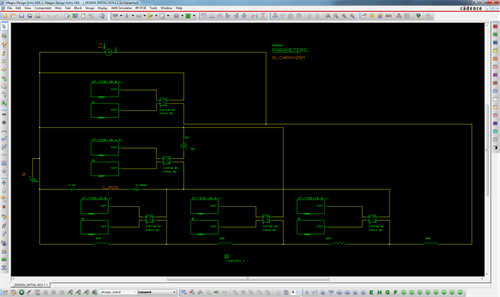 An example of a circuit I modelled in PSpice