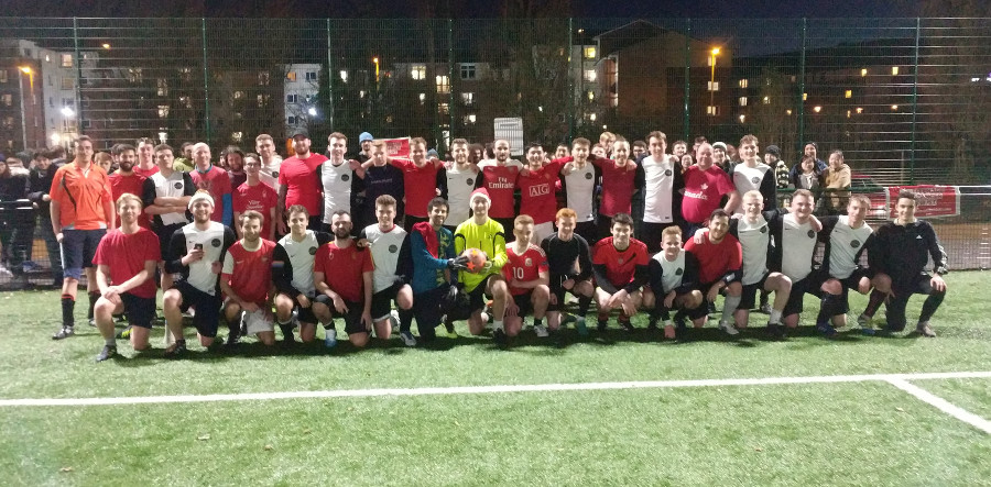 MathSoc Charity SvS Football