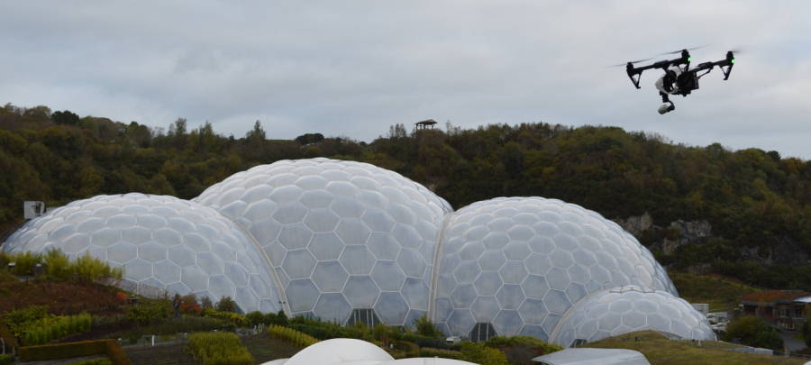 Eden Project drone