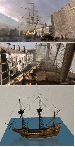 Virtual Reality Mayflower