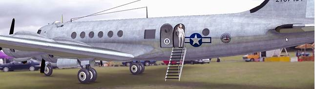 President Harry Truman Returns to RAF Harrowbeer