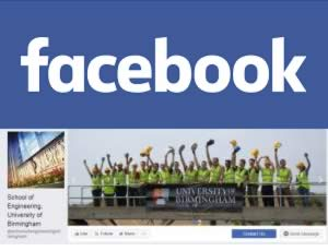 Follow the School of Engineering on Facebook