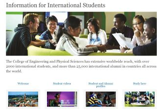 Information for international students