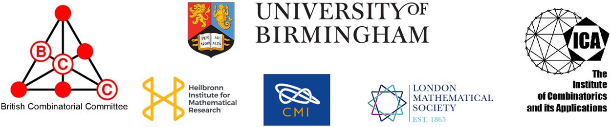 British Combinatorial Conference 2019 - School of